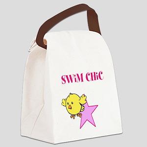 Swim Chic Canvas Lunch Bag