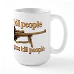 MONKEYS WITH GUNS... Large Mug