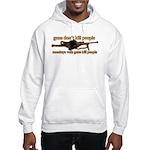 MONKEYS WITH GUNS... Hooded Sweatshirt