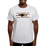 MONKEYS WITH GUNS... Light T-Shirt