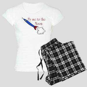 Fly me to the Moon Women's Light Pajamas