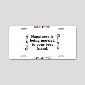 Happiness is Being Married - Anonymous Aluminum Li