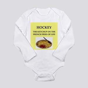 HOCKEy Long Sleeve Infant Bodysuit