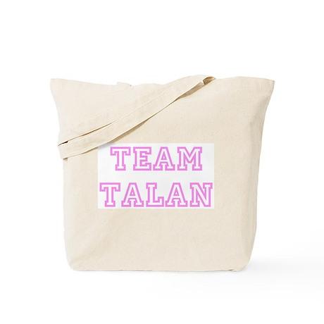 Pink team Talan Tote Bag