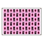 Pink Cat Paw Pattern Banner