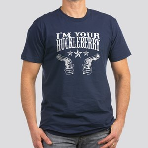 Im YOUR HUCKLEBERRY Men's Fitted T-Shirt (dark)