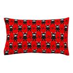 Red Black Ninja Bunny Pillow Case