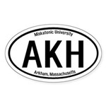 Arkham, Massachusetts Oval Sticker
