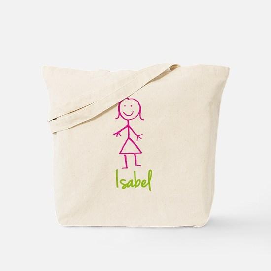 Isabel-cute-stick-girl.png Tote Bag