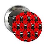 Red Black Ninja Bunny 2.25