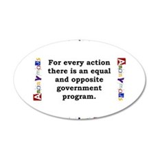 For Every Action - Anonymous Wall Decal