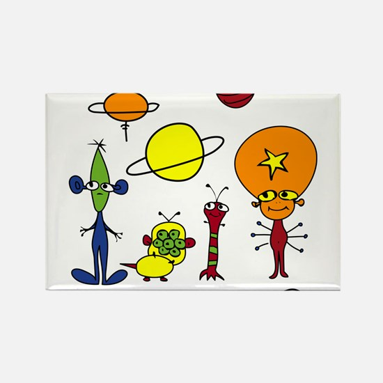 Out of This World Rectangle Magnet