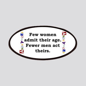 Few Women Admit Their Age - Anonymous Patch