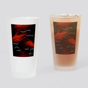 Ode on a Grecian Urn Drinking Glass