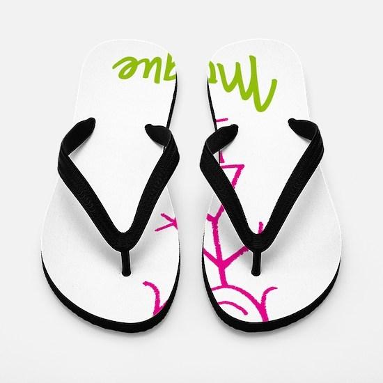 Monique-cute-stick-girl.png Flip Flops