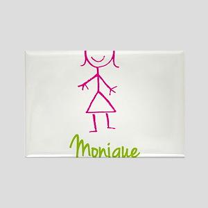 Monique-cute-stick-girl.png Rectangle Magnet