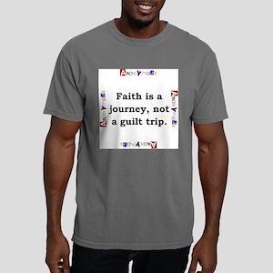 Faith Is A Journey - Anonymous Mens Comfort Colors