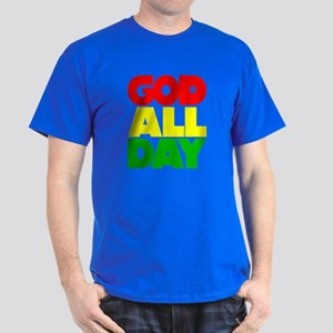GOD ALL DAY Rasta Dark T-Shirt