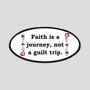 Faith Is A Journey - Anonymous Patch