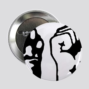 "Animal and Human liberation. 2.25"" Button"