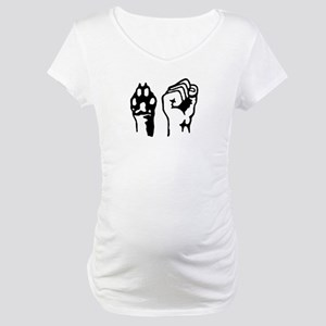 Animal and Human liberation. Maternity T-Shirt