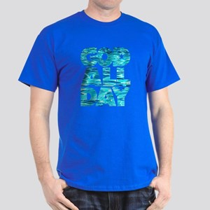 GOD ALL DAY Water Dark T-Shirt