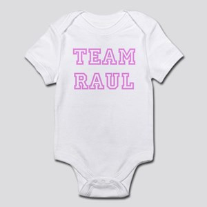 Pink team Raul Infant Bodysuit