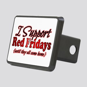 I support Red Fridays Rectangular Hitch Cover