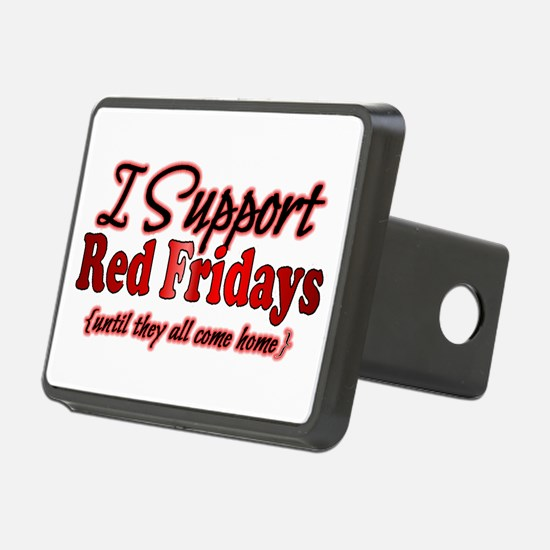 I support Red Fridays Hitch Cover