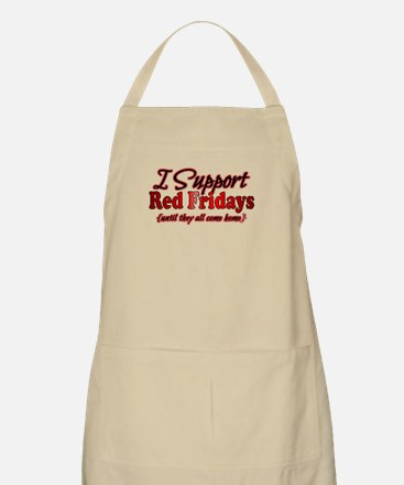 I support Red Fridays Apron