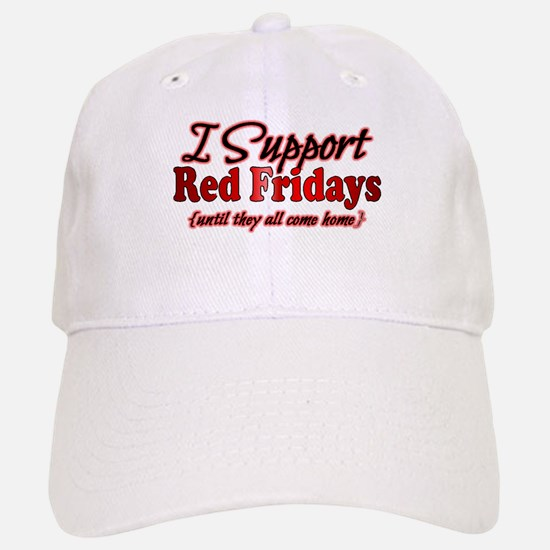 I support Red Fridays Baseball Baseball Cap