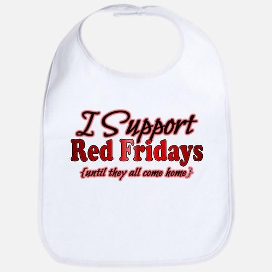 I support Red Fridays Bib