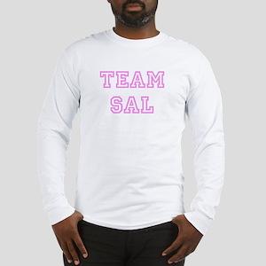 Pink team Sal Long Sleeve T-Shirt