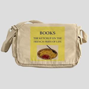 book Messenger Bag