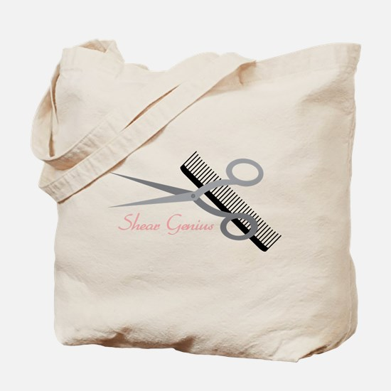 Shear Genius Tote Bag
