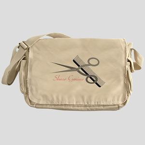 Shear Genius Messenger Bag