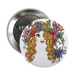 "Pretty Face 1 2.25"" Button (100 pack)"