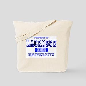 Lacrosse University Tote Bag