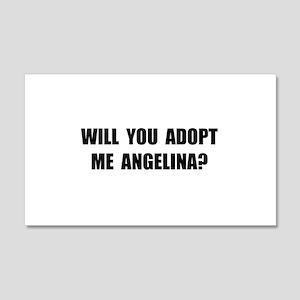Adopt Me Angelina 20x12 Wall Decal