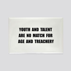 Age Treachery Rectangle Magnet (10 pack)