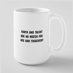 Age Treachery Large Mug