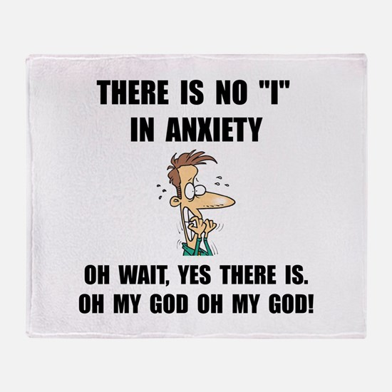 Anxiety Throw Blanket