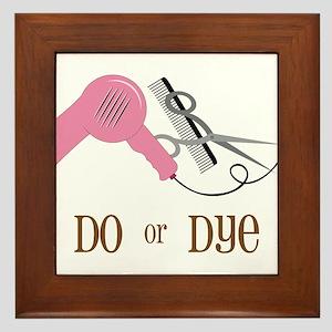 Do Or Dye Framed Tile