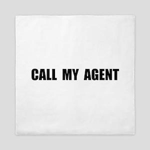Call My Agent Queen Duvet