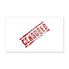 Censored Stamp Wall Decal