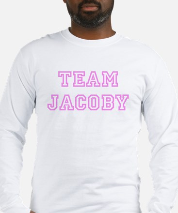 Pink team Jacoby Long Sleeve T-Shirt