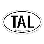 Tallahassee, Florida Oval Sticker