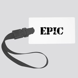 Distressed Epic Large Luggage Tag