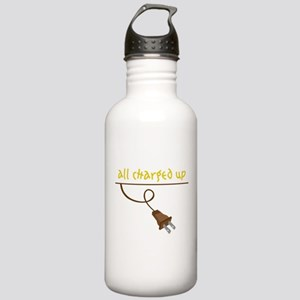 All Charged Up Stainless Water Bottle 1.0L
