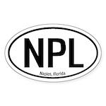 Naples, Florida Oval Sticker